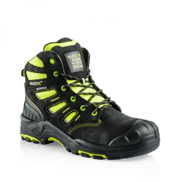Buckz Viz Safety Lace Boot