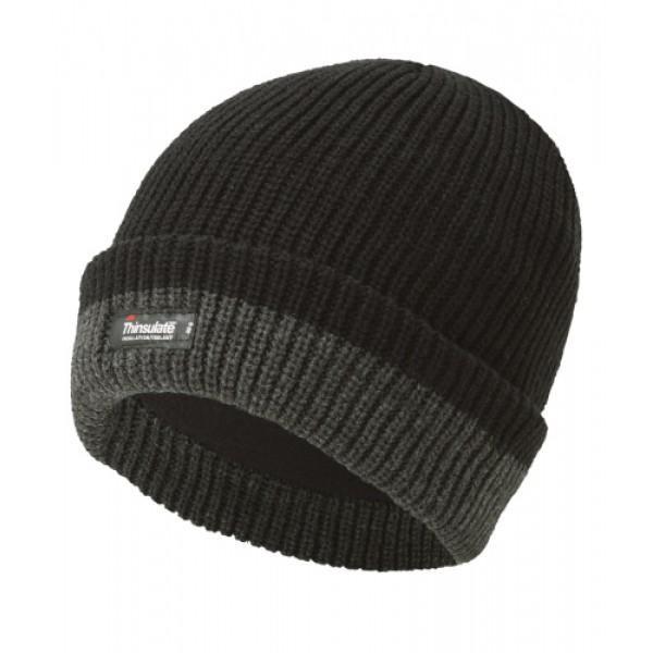 410 Thinsulate Knitted 2-Tone Beanie