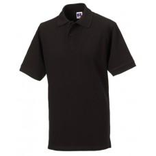 Black 569M Men's Classic Cotton Polo