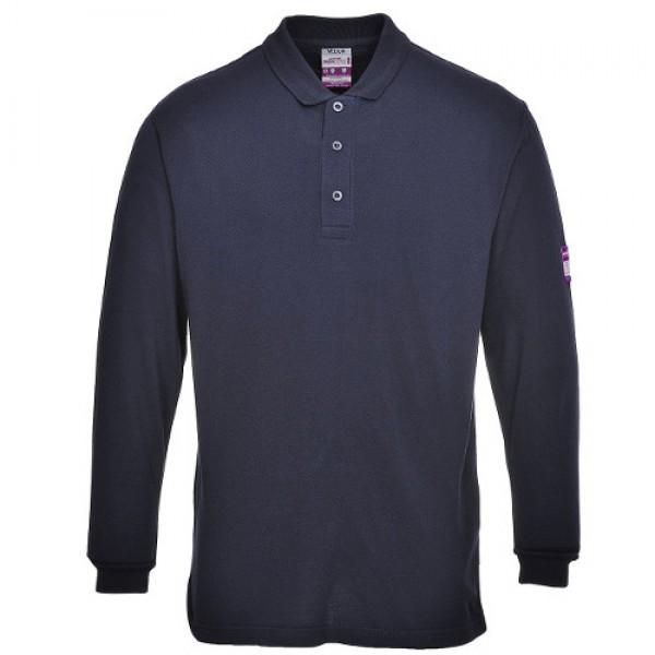 FR Anti-Static Long Sleeve Polo Shirt
