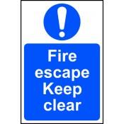 Fire & Evacuation Signs